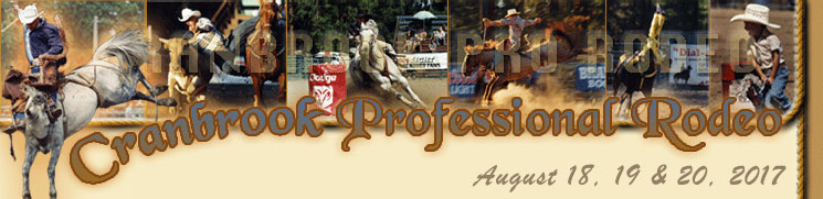 Cranbrook Pro Rodeo - August 18-20, 2017